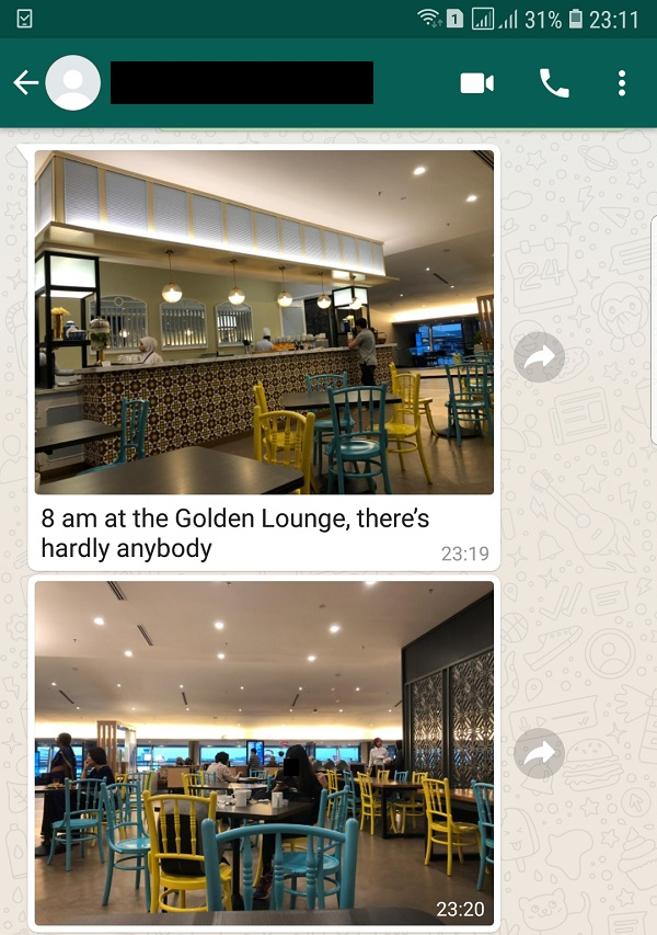 Malaysia Airlines Golden Lounge KLIA 1 2019