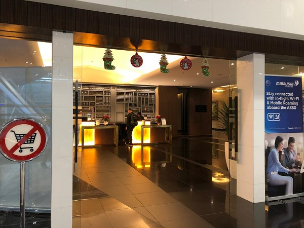Malaysia Airlines Golden Lounge KLIA 6 2019
