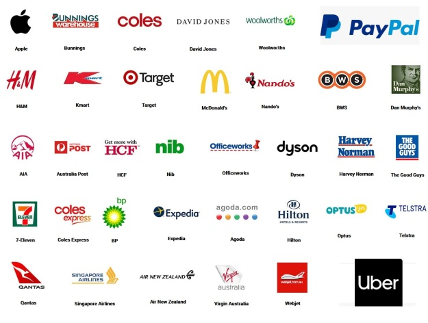 Places that Accept American Express Australia