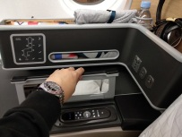 Qantas Business Class Airbus A330 Singapore to Melbourne 9