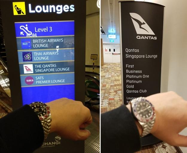 Qantas Singapore Lounge Changi Terminal 1 1