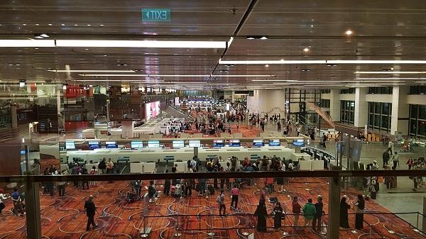 Qantas Singapore Lounge Changi Terminal 1 14