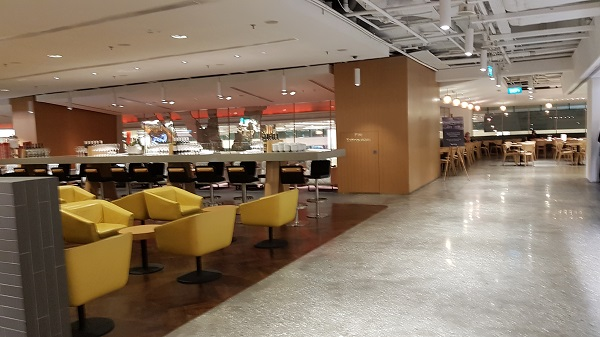 Qantas Singapore Lounge Changi Terminal 1 3