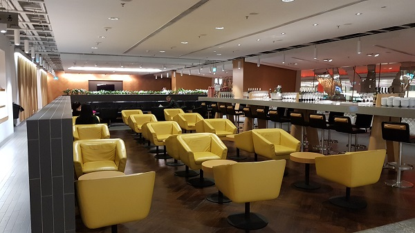 Qantas Singapore Lounge Changi Terminal 1 4