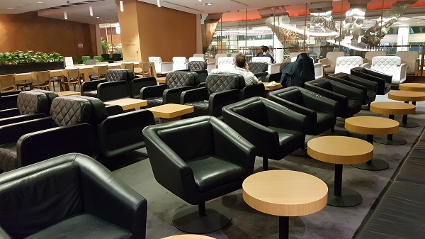 Qantas Singapore Lounge Changi Terminal 1 5