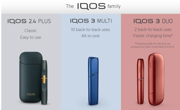 IQOS 2.4 Plus 3 Multi and iqos 3 Duo