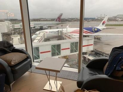 Malaysia Airline Lounge Heathrow London 10