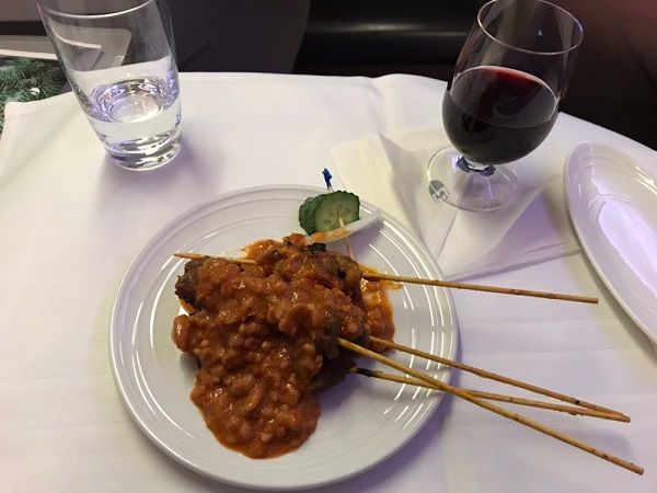 malaysia airlines business class beijing to kl food 1