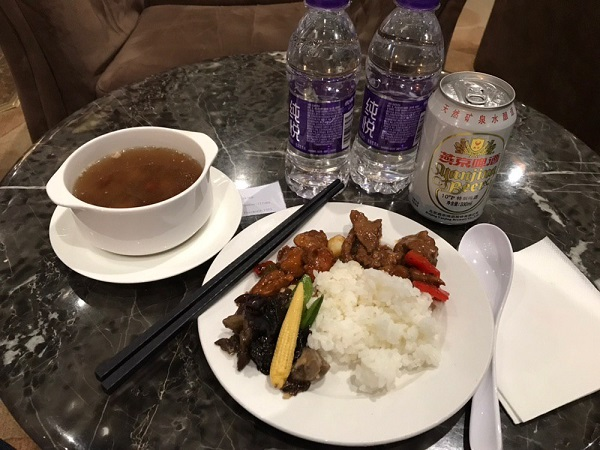 malaysia airlines business class beijing to kl lounge 2