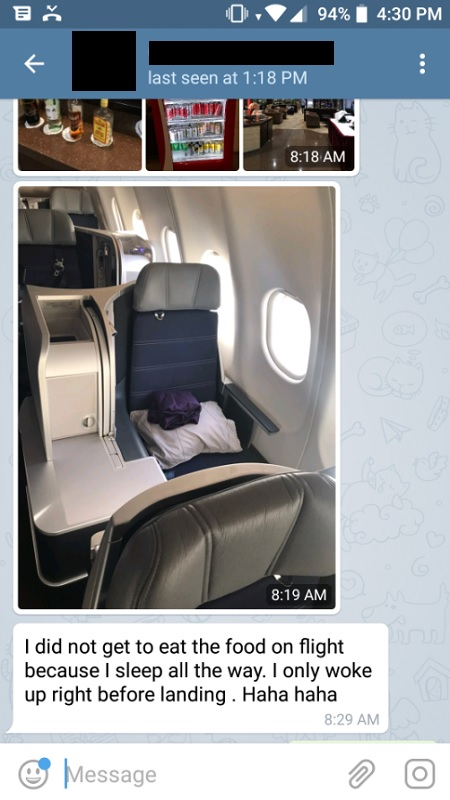 malaysia airlines business class beijing to kl travel report