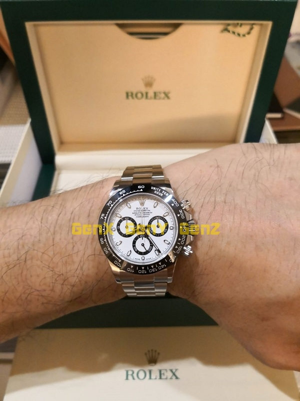 roelx daytona 116500ln white panda 1