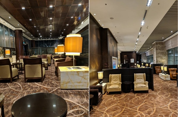 Singapore Airlines First Class Lounge Changi