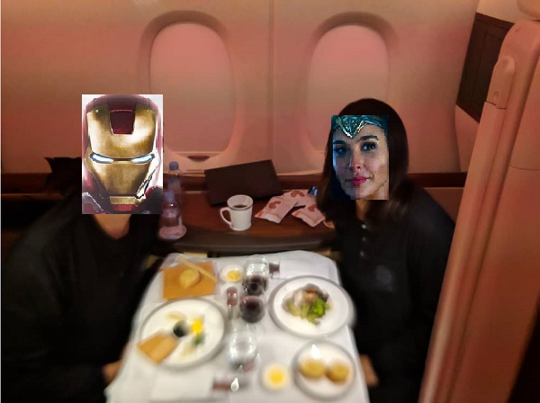 Suite Class Singapore Airlines Dining 1