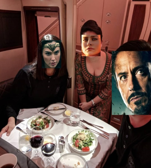 Suite Class Singapore Airlines Dining 2