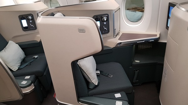 Cathay Pacific Business Class Airbus A350 Review Seat 20A 1b.jpg