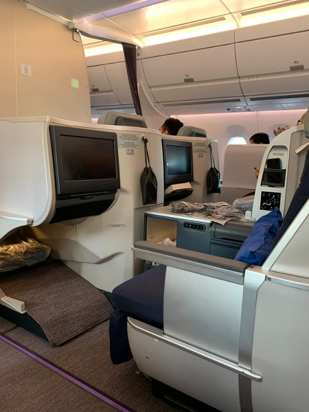 Malaysia Airlines Airbus A350 Business Class KL London 7.jpg
