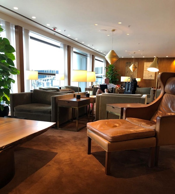 Cathay Pacific First Class Lounge The Pier Hong Kong 5