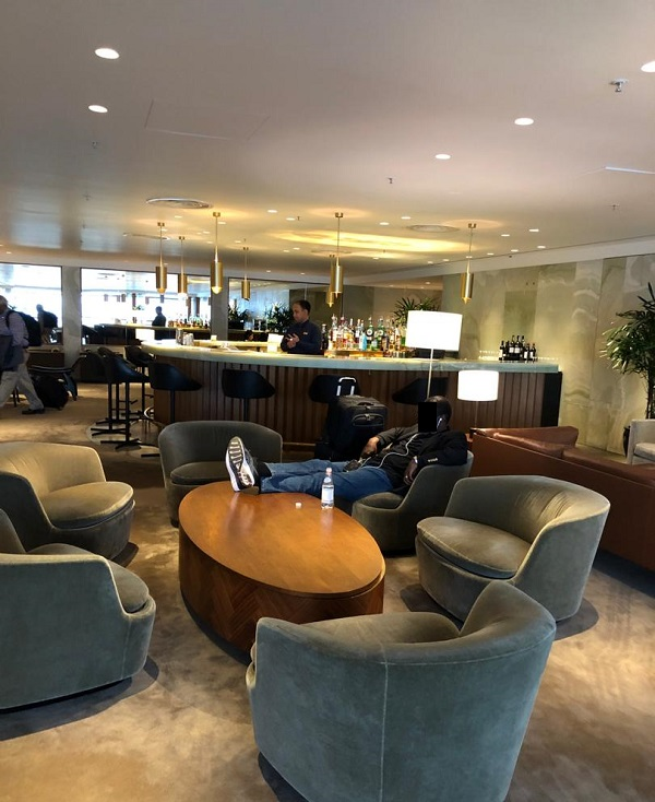 Cathay Pacific First Class Lounge The Pier Hong Kong 6