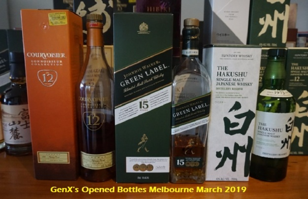 GenX Spirit Collection 2019 opened cognac and whiskies.jpg