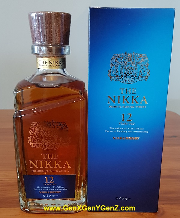 Nikka !2 Years Premium Blended Whisky Discontinued Collector Item