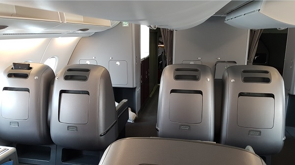 Qantas Airbus A300-800 Business Class Seat 3 2019