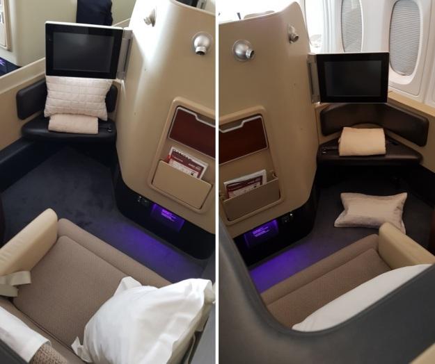 Qantas Airbus A300-800 First Class Review 2 2019