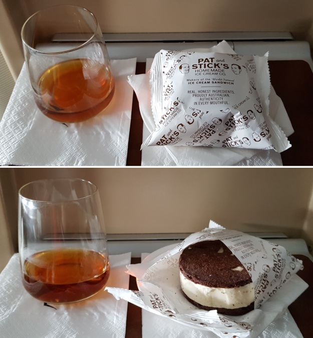 Qantas First Class Review Airbus A380 Food Drink Review 2019 4