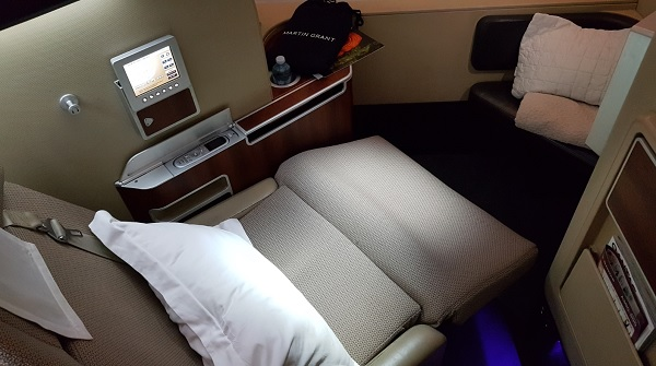 Qantas First Class Review Airbus A380 Seat 1A 8