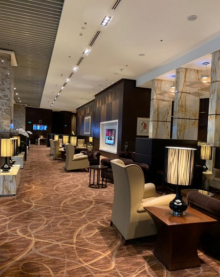 Singapore Airlines Changi First Class Lounge and Private Room 1
