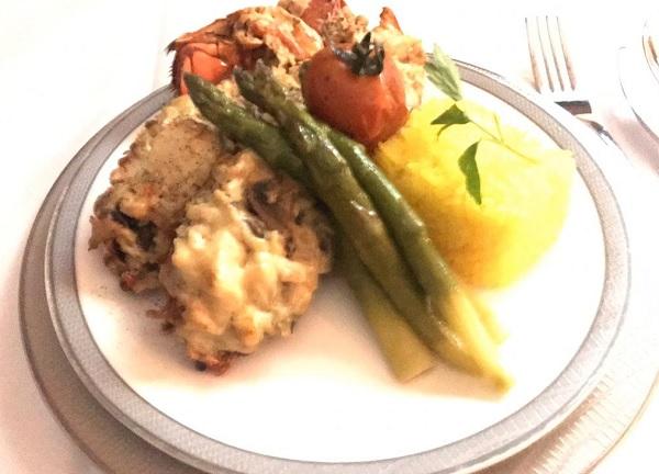 Singapore Airlines New Suite food In FLight Menu to Zurich 5