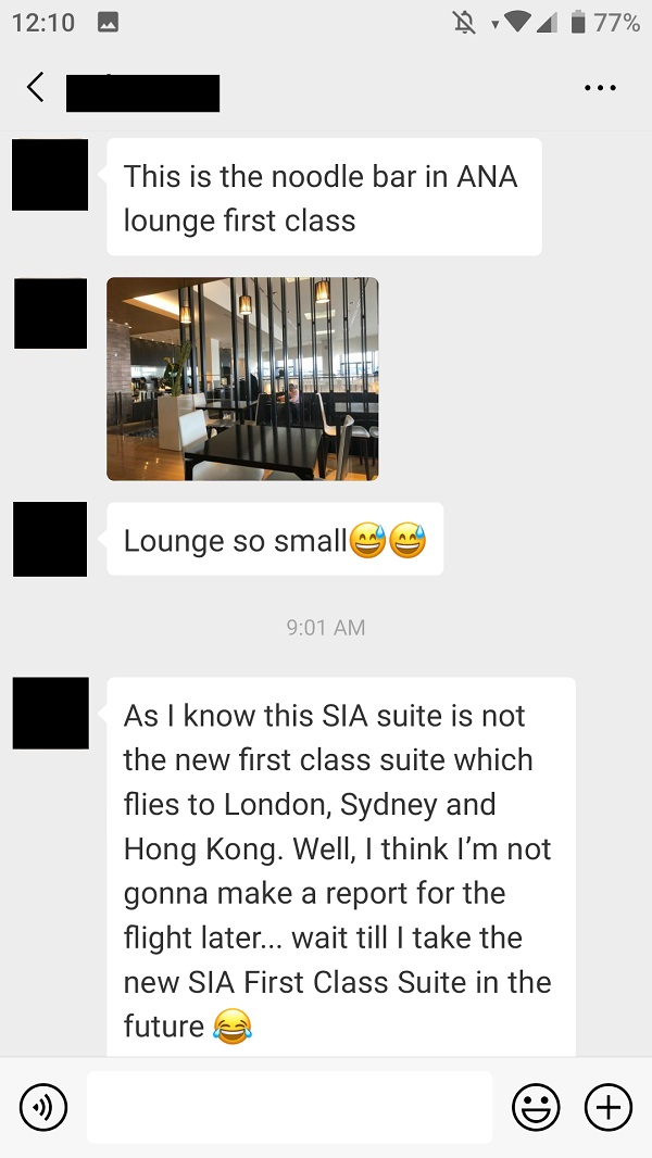ANA Suite First Class Lounge Narita Airport Japan Review 4