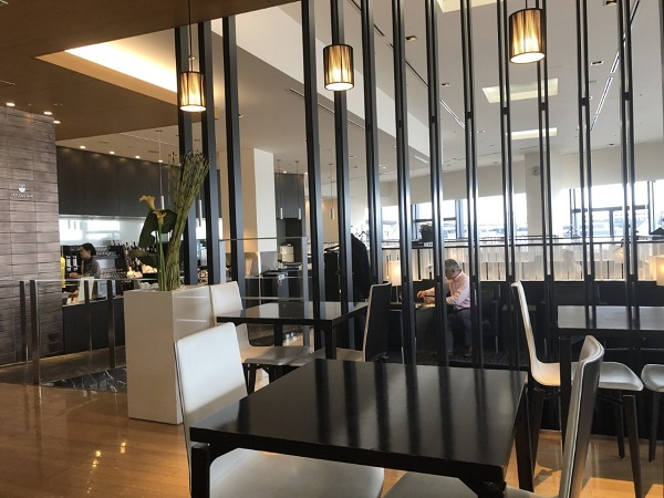 ANA Suite First Class Lounge Narita Airport Japan Review 8