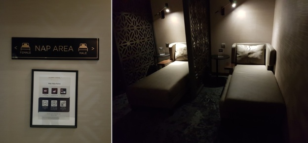 Malasia Airlines Business Class Golden Lounge KLIA napping zone.jpg