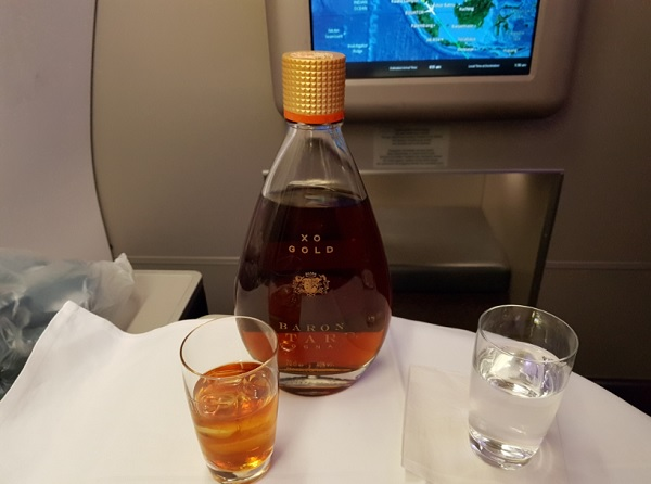 Malasia Airlines Business Class In Flight Menu Kl to Melbourne 5