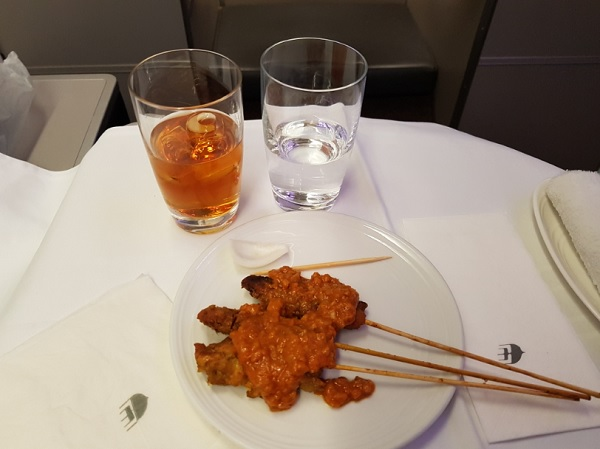 Malasia Airlines Business Class In Flight Menu Kl to Melbourne 6