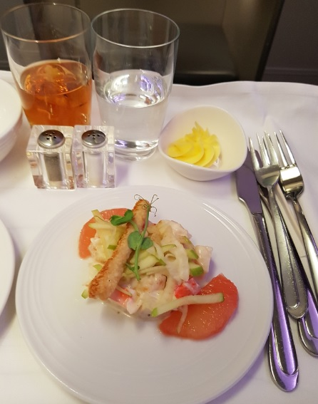 Malasia Airlines Business Class In Flight Menu Kl to Melbourne 7
