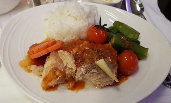 Malasia Airlines Business Class In Flight Menu Kl to Melbourne 8