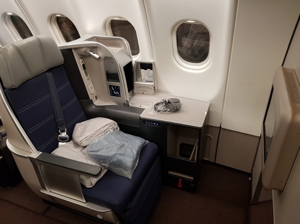 Malaysia Airlines Business Class Airbus A330 Seat 1A 1