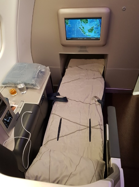 Malaysia Airlines Business Class Airbus A330 Seat 1A 3