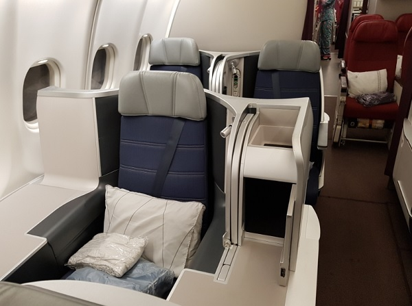 Malaysia Airlines Business Class Airbus A330 Seat 2