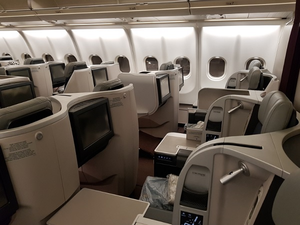 Malaysia Airlines Business Class Airbus A330 Seat 4