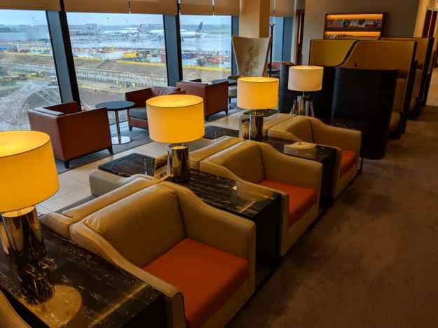 Singapore Airlines First Class Lounge Heathrow London Airport 4