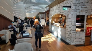 Turkish Airlines Business Class Airport Lounge Istanbul Live Report 10