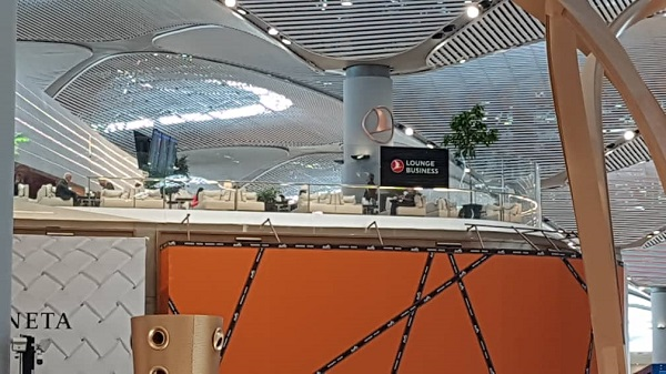 Turkish Airlines Business Class Airport Lounge Istanbul Live Report 5
