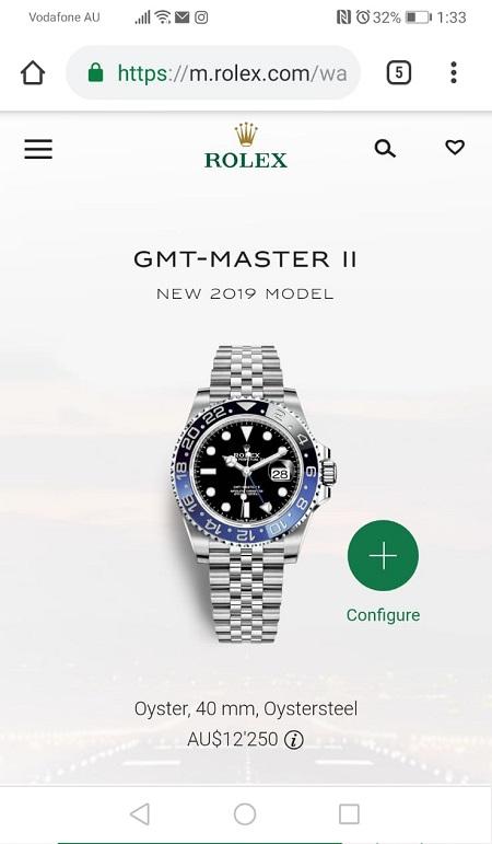 Rolex GMT Master II 126710BLNR Batgirl 2019 Australia Price.jpg