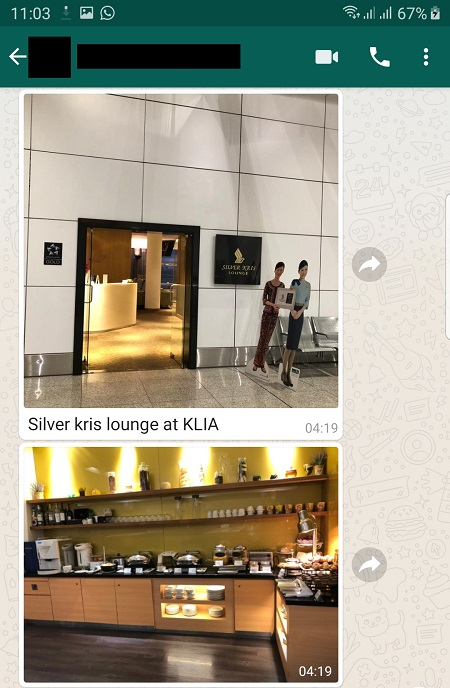 Singapore Airlines Travel Report KirsFlyer Lounge KLIA 1