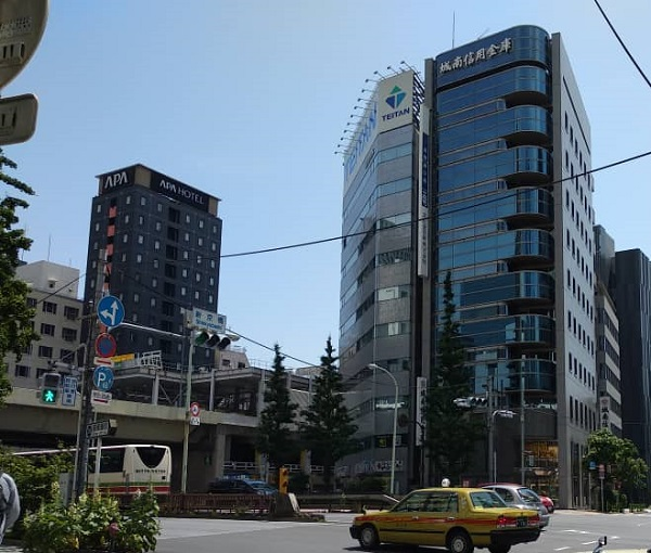 Apa Hotel Ginza Takaracho Tokyo 1