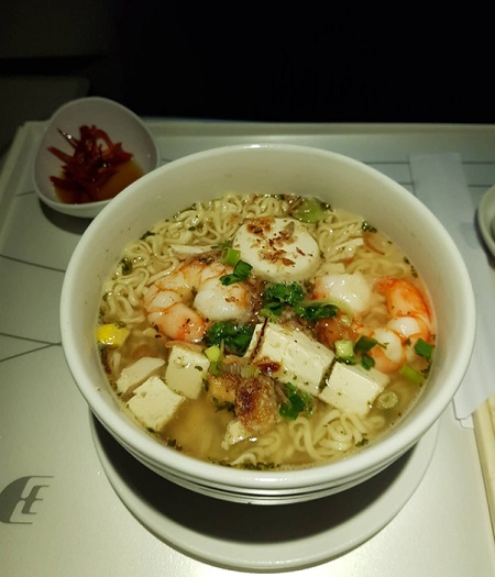 Business Class Malaysia Airlines KL Beijing Food Noodle.jpg
