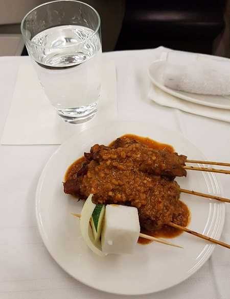 Business Class Malaysia Airlines Satay.jpg