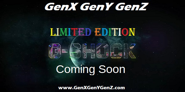 Casio G Shock MTG Limited Edition